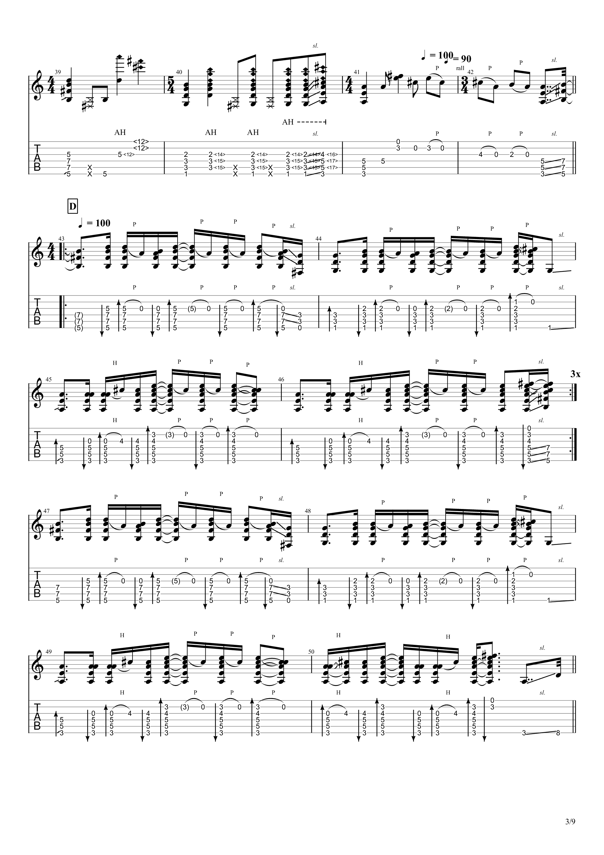 Patanga吉他谱3