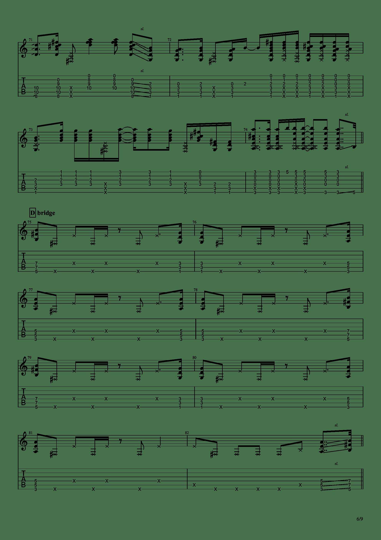 Patanga吉他谱6
