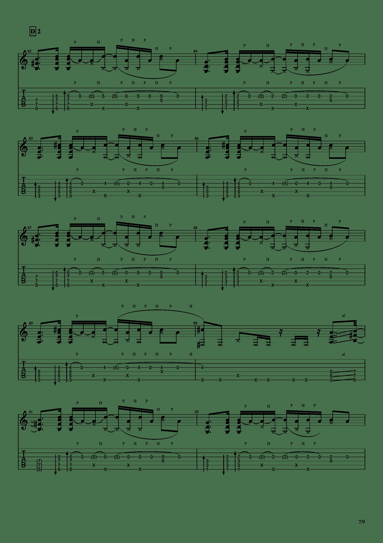 Patanga吉他谱7