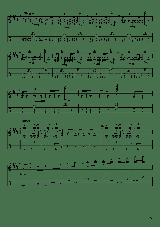 Bristlecone吉他谱2