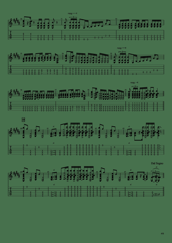 Bristlecone吉他谱4