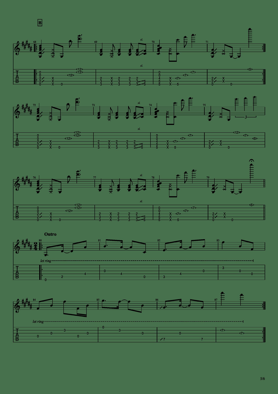 Bristlecone吉他谱5