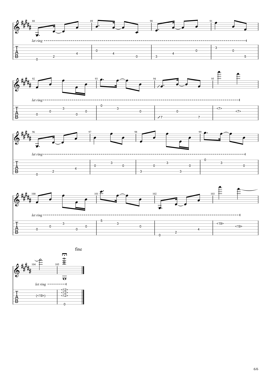 Bristlecone吉他谱6