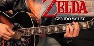 Zelda - Gerudo Valley Tutorial Guitarra + TAB // 吉他教学 (HD)