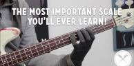 The Most Important Scale You'll Ever Learn /// Scott's Bass Lessons